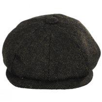 Sidecar Nailhead Wool Blend Newsboy Cap in