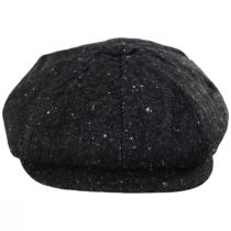Sazerac Tweed Wool Blend Newsboy Cap in