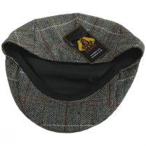 Regent Herringbone Plaid Wool Blend Ivy Cap in
