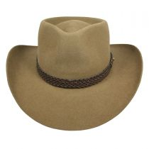 Snowy River Fur Felt Australian Western Hat alternate view 16