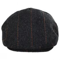 Negroni Herringbone Plaid Wool Blend Ivy Cap alternate view 10