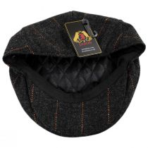 Negroni Herringbone Plaid Wool Blend Ivy Cap alternate view 16