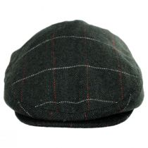 Gimlet Herringbone Plaid Wool Blend Ivy Cap in