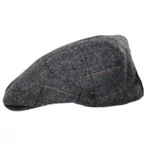 Vesper Herringbone Plaid Wool Blend Ivy Cap in