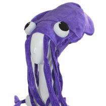 Giant Plush Squid Hat alternate view 6