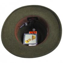 Hiker Wool Felt Safari Fedora Hat alternate view 44