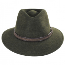 Hiker Wool Felt Safari Fedora Hat alternate view 70