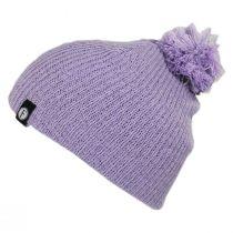 Kids' Juliet Pom Cotton Blend Beanie Hat alternate view 2