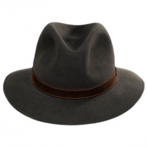 Traveler Fur Felt Fedora Safari Hat alternate view 14