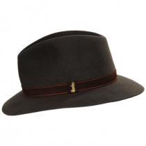 Traveler Fur Felt Fedora Safari Hat alternate view 15