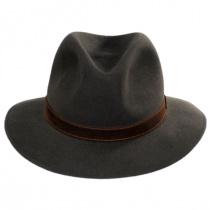 Traveler Fur Felt Fedora Safari Hat in