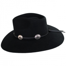 Traveler Wool Felt Crossover Hat alternate view 3