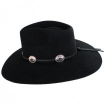 Traveler Wool Felt Crossover Hat alternate view 9