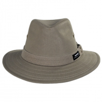 Canvas Cotton Safari Fedora Hat alternate view 2