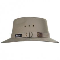 Canvas Cotton Safari Fedora Hat in