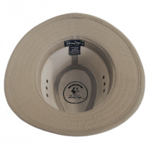Canvas Cotton Safari Fedora Hat alternate view 4