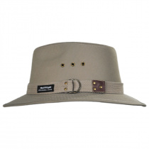 Canvas Cotton Safari Fedora Hat alternate view 7