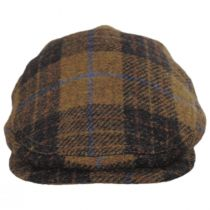 Baldwin Harris Tweed Plaid Wool and Cotton Ivy Cap alternate view 2