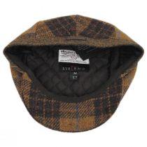 Baldwin Harris Tweed Plaid Wool and Cotton Ivy Cap alternate view 4