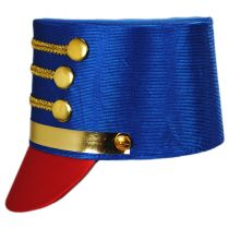 Satin Drum Major Hat in