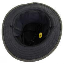 Alpine Herringbone Earflap Fedora Hat in