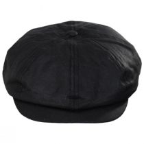 British Millerain Wax Cotton Newsboy Cap alternate view 14