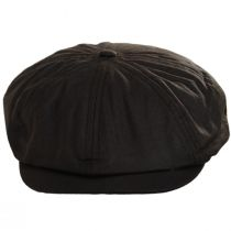 British Millerain Wax Cotton Newsboy Cap alternate view 6