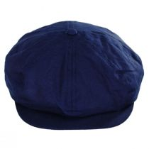 British Millerain Wax Cotton Newsboy Cap alternate view 22
