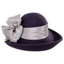 Roller Wool Felt Dip Brim Hat alternate view 2