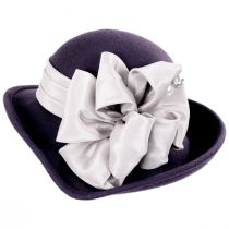 Roller Wool Felt Dip Brim Hat alternate view 3