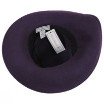Roller Wool Felt Dip Brim Hat alternate view 4