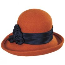 Bengaline Band Wool Felt Off the Face Hat alternate view 2