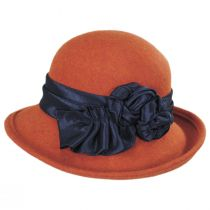 Bengaline Band Wool Felt Off the Face Hat alternate view 3