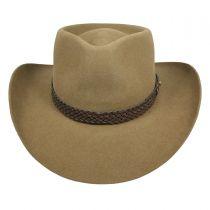 Snowy River Fur Felt Australian Western Hat in