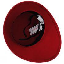 Velvet Band Wool Felt Asymmetrical Cloche Hat alternate view 4