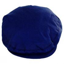 British Millerain Wax Cotton Ivy Cap in