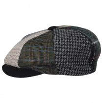 Parma Patchwork Wool Blend Newsboy Cap alternate view 3