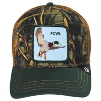 Fowl Trucker Snapback Baseball Cap in