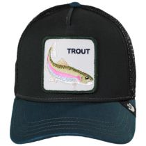 Trout Trucker Snapback Baseball Cap alternate view 2
