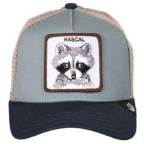 Little Rascal Kids Trucker Snapback Baseball Cap alternate view 2