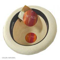 Panama Stingy Brim Derby Hat