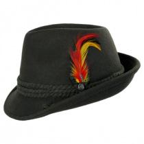 Alpine Wool Felt Fedora Hat alternate view 3