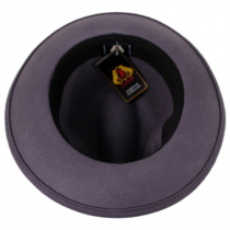 Pinch Crown Crushable Wool Felt Fedora Hat alternate view 14