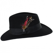 Ford Crushable Wool Felt Fedora Hat alternate view 18