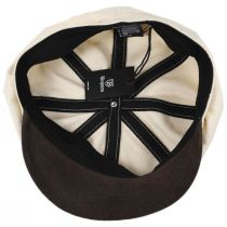 Montreal Cotton and Suede Cap in