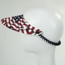 Springlace Flags Sunvisor alternate view 3