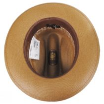 Open Road Shantung Vented Straw Western Hat alternate view 4
