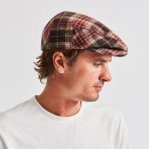 Hooligan Plaid Wool Blend Ivy Cap in