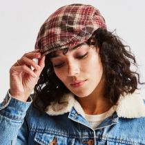 Hooligan Plaid Wool Blend Ivy Cap alternate view 6