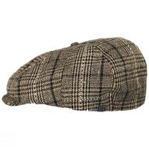 Brood Plaid Newsboy Cap alternate view 3